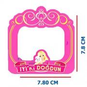 25 Adet Barbie Magnet Doğum Günü Partisi Çerçevesi Buzdolabı Süsü