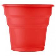 25 ADET Kırmızı Bardak 200 ml Kullan At Doğum Günü Parti Ucuz