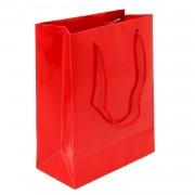 25 Adet Kırmızı Hediyelik Küçük boy Çanta 18cm x 12cm