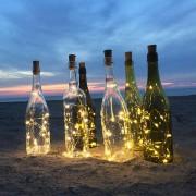 Dekoratif Led Işık, Peri Led, Gün Işığı Sarı İp Led Işık Zinciri