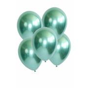5 Ad 1.Kalite Yeşil Renkli Parlak Krom Metalik Aynalı Balon