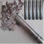 5 Adet Gümüş Grisi Konfeti 30cm (Nişan, Kına, Düğün, Sünnet vb.)