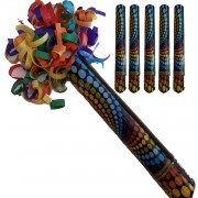 5 Adet Renkli Karnaval Konfeti 30cm (Doğum günü vb.)