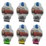 6 Adet Cars (Arabalar) Parti Düdüğü (Kaynana Dili)