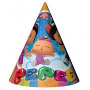 6 Adet Pepee, Bebe, Şila Küçük Külah Şapka, Doğum Günü Partisi