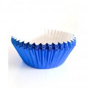 60 Mavi Cupcake Kalıbı Kek Kapsülü Muffin Kabı