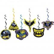 6lı Batman Partisi Konsept Organizasyonu Yazı Süsleri Malzemeleri