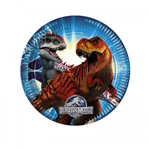 8 Adet Dinazor Tabak Dinozor Parti Temasi Jurassic World