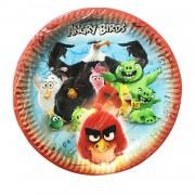 8 Adet Angry Birds Kağıt Tabak, Doğum Günü Parti Konsepti