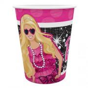 8 adet Barbie Bardak 200ml Doğum Günü Parti Bardağı
