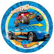 8 Adet Hot Wheels Karton Tabak, Arabalar Konsepti Parti Malzemesi
