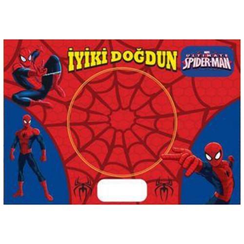8 Adet Örümcek Adam Spiderman American Servis Tabak Altlığı Sunum
