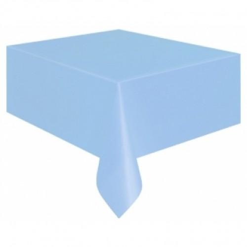 Açık Mavi Masa Örtüsü 1.37mt x 2.7 mt Doğum Günü Parti Ucuz