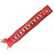 Sevgiliye Sürpriz Hediye, Kırmızı Seni Seviyorum Çikolata