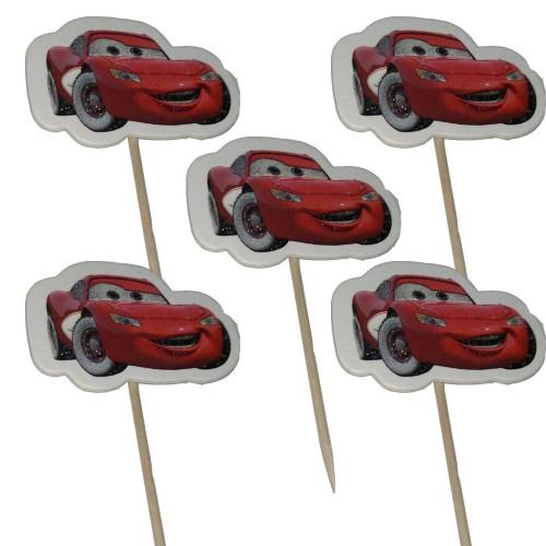 Arabalar (cars) Sunum Kürdanı 20 Adet Doğum Günü