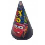 Arabalar Parti Şapkası, Cars Doğum Günü Şapkası 10 ADET