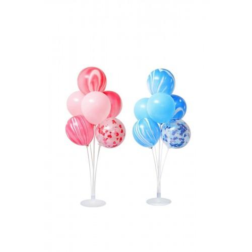 Ayaklı Balon Standı 7'Li İkili Set