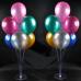 Ayaklı Balon Standı - Makaron Balon - Metalik Balon - Krom Balon