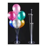 Balon Süsleme Standı 7 Çubuklu Set  Set İçi Miktarı : 7 Adet Çubuk