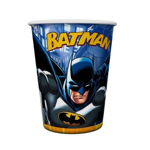 Batman 8li Bardak Doğum Günü Parti Bardağı 200ml