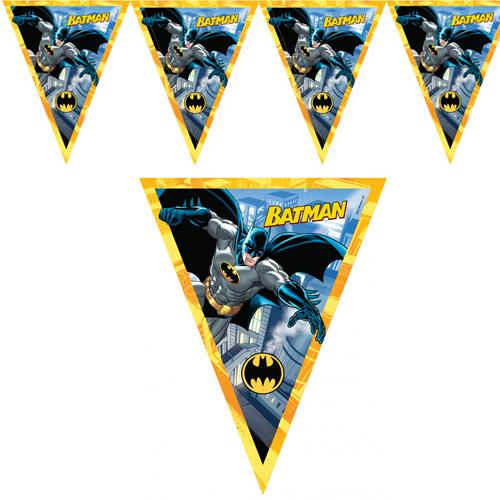Batman Flama Konsept Tepe Süsü 2 mt Doğum Günü Parti