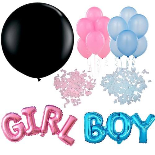 Bebek Cinsiyet Belirleme Balonu Paketi, Öğrenme Partisi Malzemesi