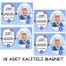 Bebek Mevlüt Süsleme Seti Simli Ve Fotoğraflı Mevlüt Afişi