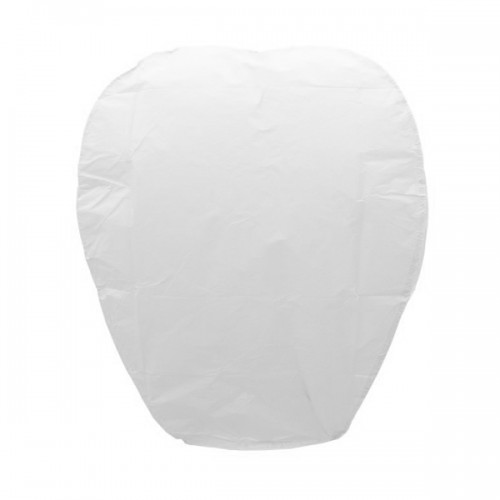 1 Adet Uçan Beyaz Dilek Feneri Özel Gün Dilek Balonu Kandili