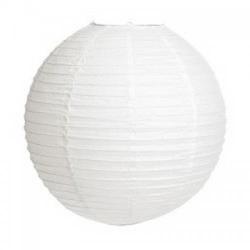 Beyaz Kağıt Japon Feneri Dekorasyon Süslemesi, 30x30 cm Küçük