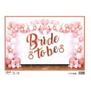 Bride To Be Balon Seti, Bekarlığa Veda Partisi Süsleme Paketi