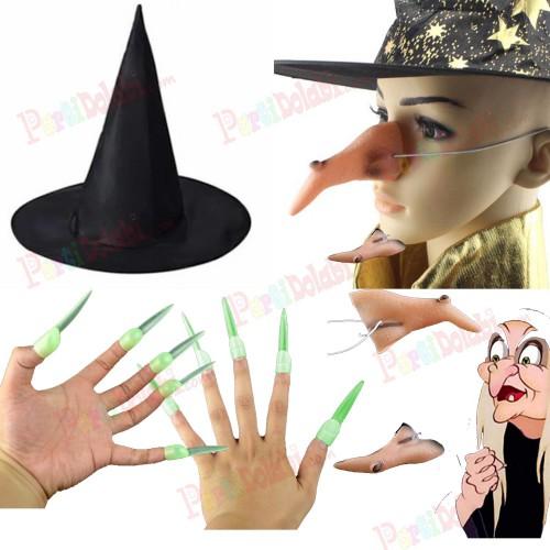 Cadı Şapkası, Cadı Tırnağı, Cadı Burnu, Cadılar Bayramı Halloween