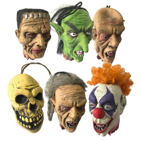 Cadılar Bayramı Partisi Dekor Ürünü, Halloween Kesik Baş Süsleri