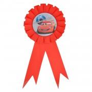 Cars Arabalar Parti Konsepti Doğum Günü Çocuğu Yaka Rozeti