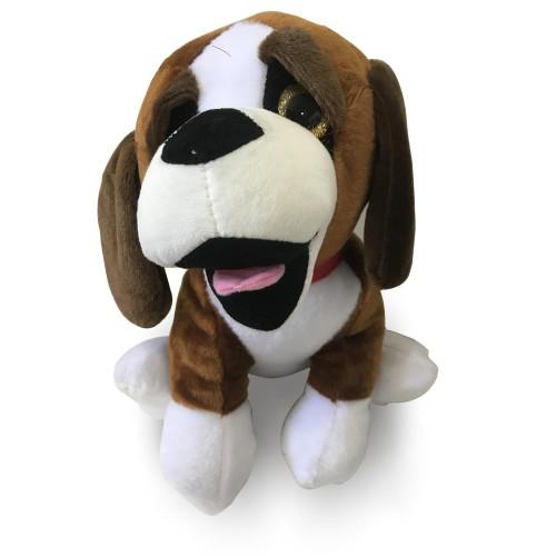 Çocuğa Kahverengi Hediyelik Uzun Kulaklı Oyuncak Peluş Köpek