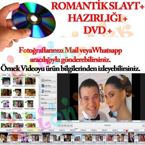 Değişik Romantik Sürpriz Video Slayt DVD+ Hazırlık Süpriz Sevgili
