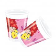Disney Prensesler Bardak Doğum Günü Bardağı 8li
