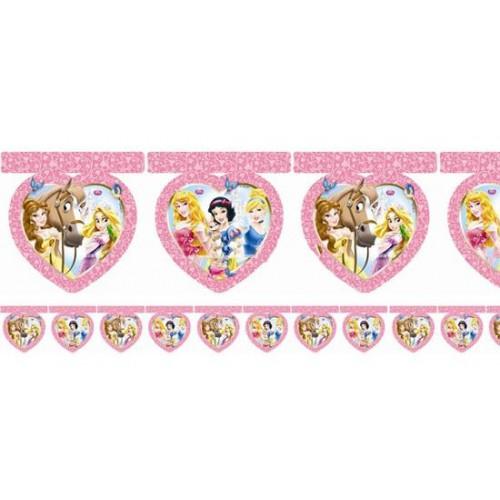 Disney Prensesler Flama 2.6 metre Doğum Günü Parti Flaması