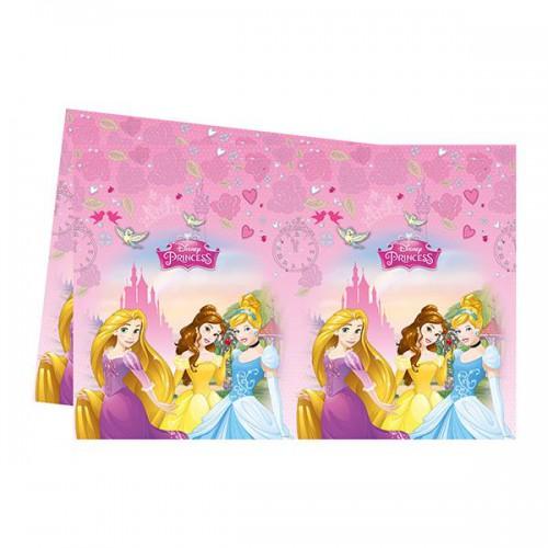Disney Prensesler Masa Örtüsü 120cm x 180cm Doğum Günü Parti Örtü