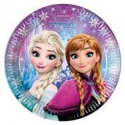 Elsa Frozen 8li Tabak 23cm Doğum Günü Parti Tabağı
