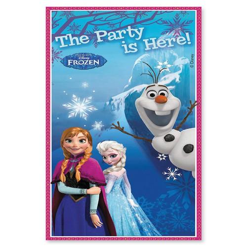 Elsa Frozen Kapı Afiş 76x152 Doğum Günü Parti Afişi Karlar Ülkesi