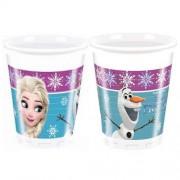 8 Adet Elsa Frozen Bardak Set Doğum Günü Parti Konsepti Bardağı