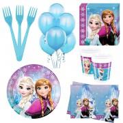 Elsa, Karlar ülkesi 8 Kişilik 6 Parça Doğum Günü Seti malzemeleri