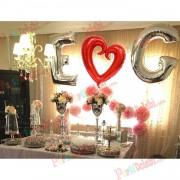Evlilik Teklifi Organizasyon Fikirleri Kafe, Mekan Süsleme Paketi