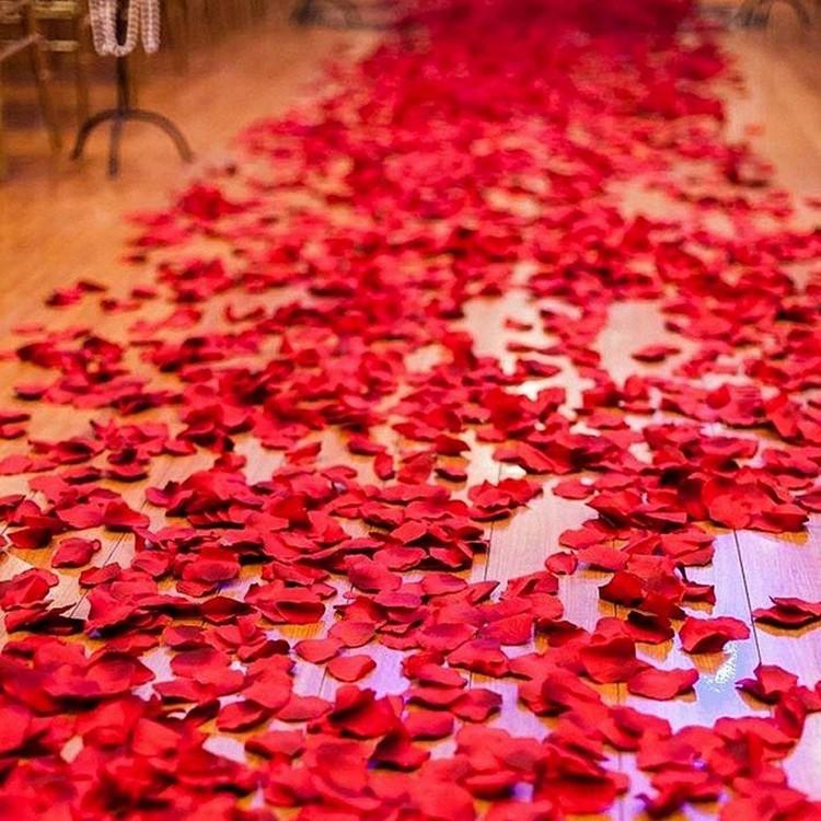 EVLİLİK TEKLİFİ ROMANTİK PAKET 8Lİ+ GÜL YAPRAĞI+KALPLİ MUM, BALON