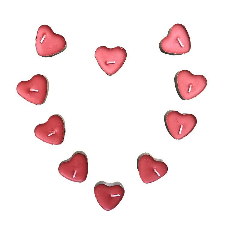 Evlilik Teklifi Romantik Paket 8li Gül Yaprağikalpli Mum Balon