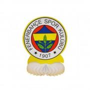 Fenerbahçe Doğum Günü Masası Orta Süs, Sarı Lacivert Fb Masa Süsü
