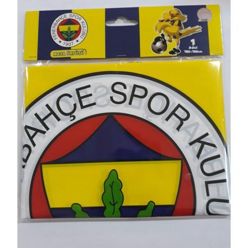 Fenerbahçe Masa Örtüsü Doğum Günü Parti Örtü 120x180cm Ucuz Sarı Lacivert