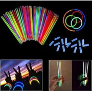 Fosforlu Glow Stick - Renkli Çubuk- Işıklı Parti Bilekliği