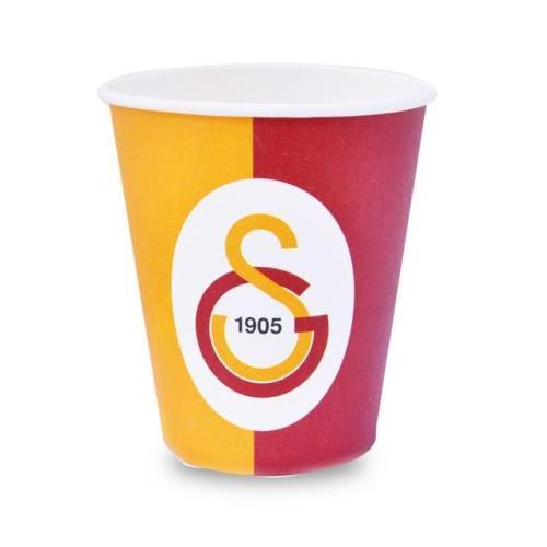 Galatasaray 8li Bardak Doğum Günü Parti Bardağı 200ml Sarı Kırmızı