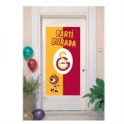 Galatasaray Doğum Günü Partisi Kapı Afişi Gs Kapı Banner 56x112cm